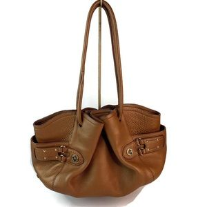 Cole Haan Village Classics F06 Brown Leather Hobo
